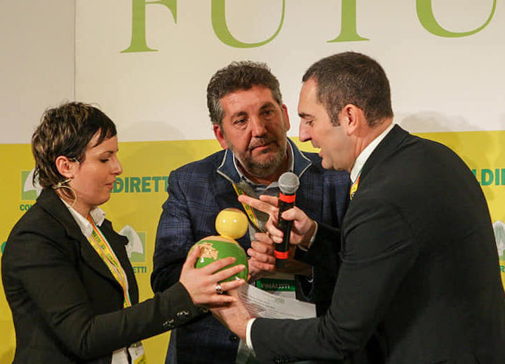Il premio Oscar Green di Coldiretti all'Orto Matto di Luca Cammarata