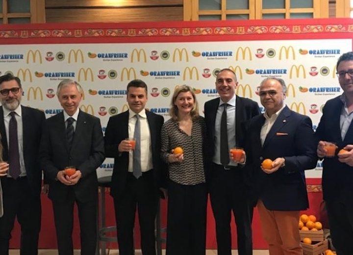 Le Rosse di Sicilia Igp sbarcano in 450 punti vendita di McDonald's