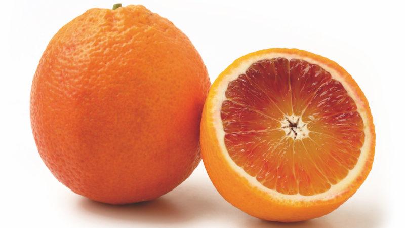 arancia rossa in Cina