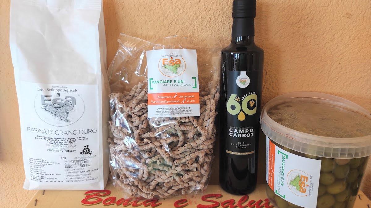 Agricoltura&Solidarietà all'Esa, in beneficenza i prodotti del Campo Carboj