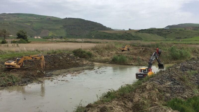 pulizia fiumi e torrenti